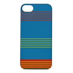 Sketches Tone Red Yellow Blue Black Musical Scale Apple iPhone 5S/ SE Hardshell Case