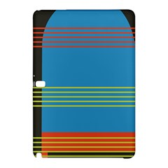 Sketches Tone Red Yellow Blue Black Musical Scale Samsung Galaxy Tab Pro 10.1 Hardshell Case
