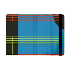 Sketches Tone Red Yellow Blue Black Musical Scale iPad Mini 2 Flip Cases