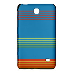 Sketches Tone Red Yellow Blue Black Musical Scale Samsung Galaxy Tab 4 (7 ) Hardshell Case