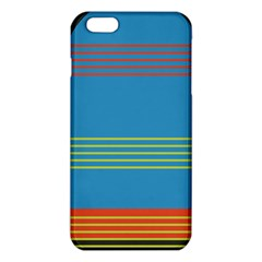 Sketches Tone Red Yellow Blue Black Musical Scale iPhone 6 Plus/6S Plus TPU Case