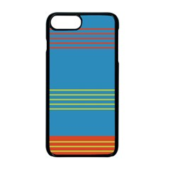 Sketches Tone Red Yellow Blue Black Musical Scale Apple Iphone 7 Plus Seamless Case (black)
