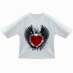Wings Of Heart Illustration Infant/Toddler T-Shirts