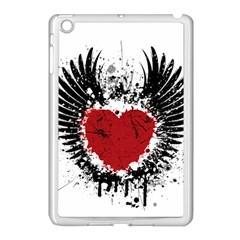 Wings Of Heart Illustration Apple iPad Mini Case (White)