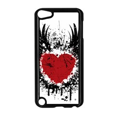 Wings Of Heart Illustration Apple iPod Touch 5 Case (Black)