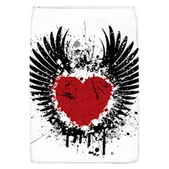 Wings Of Heart Illustration Flap Covers (L)