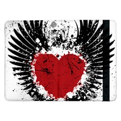 Wings Of Heart Illustration Samsung Galaxy Tab Pro 12 2  Flip Case