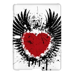 Wings Of Heart Illustration Samsung Galaxy Tab S (10.5 ) Hardshell Case