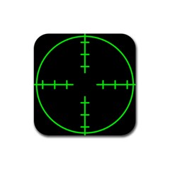 Sniper Focus Rubber Coaster (square)