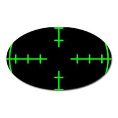 Sniper Focus Oval Magnet