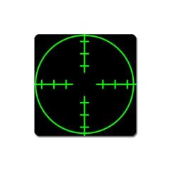 Sniper Focus Square Magnet