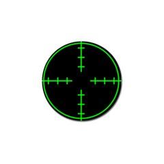 Sniper Focus Golf Ball Marker (10 Pack)