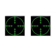 Sniper Focus Cufflinks (square)