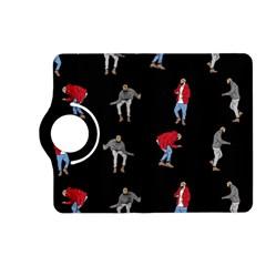 Drake Hotline Bling Black Background Kindle Fire Hd (2013) Flip 360 Case