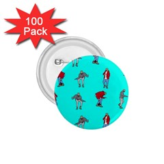 Hotline Bling Blue Background 1.75  Buttons (100 pack)