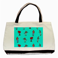 Hotline Bling Blue Background Basic Tote Bag