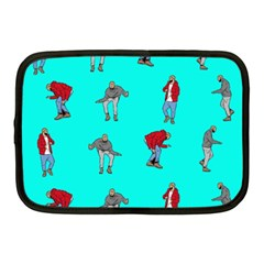 Hotline Bling Blue Background Netbook Case (Medium)