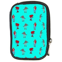 Hotline Bling Blue Background Compact Camera Cases