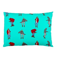 Hotline Bling Blue Background Pillow Case (Two Sides)