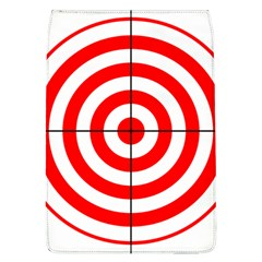 Sniper Focus Target Round Red Flap Covers (L)