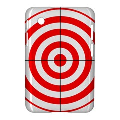 Sniper Focus Target Round Red Samsung Galaxy Tab 2 (7 ) P3100 Hardshell Case