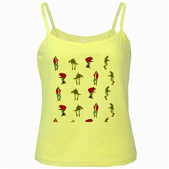 Hotline Bling Yellow Spaghetti Tank