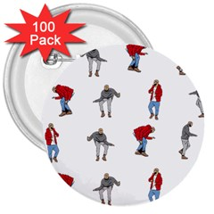 Hotline Bling 3  Buttons (100 pack)
