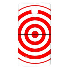 Sniper Focus Target Round Red Galaxy Note 4 Back Case
