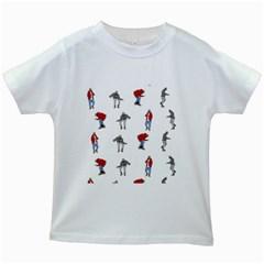 Hotline Bling Kids White T-Shirts