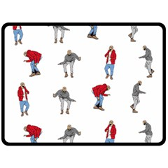 Hotline Bling Fleece Blanket (Large)