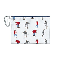 Hotline Bling Canvas Cosmetic Bag (M)