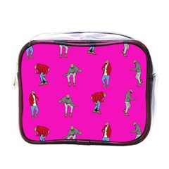Hotline Bling Pink Background Mini Toiletries Bags