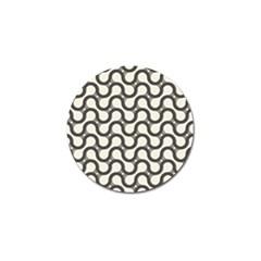 Shutterstock Wave Chevron Grey Golf Ball Marker (10 Pack)