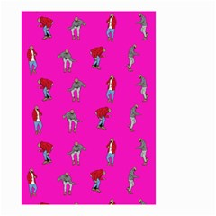 Hotline Bling Pink Background Small Garden Flag (two Sides)