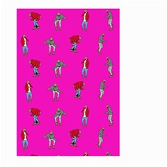 Hotline Bling Pink Background Large Garden Flag (two Sides)