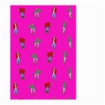 Hotline Bling Pink Background Large Garden Flag (Two Sides) Back