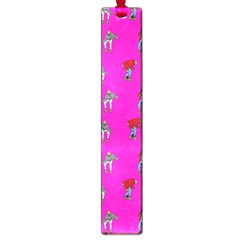 Hotline Bling Pink Background Large Book Marks