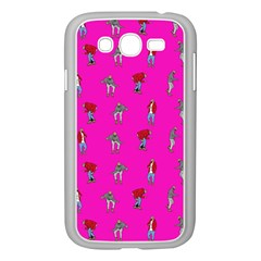 Hotline Bling Pink Background Samsung Galaxy Grand DUOS I9082 Case (White)