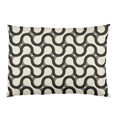 Shutterstock Wave Chevron Grey Pillow Case (Two Sides)