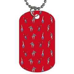 Hotline Bling Red Background Dog Tag (two Sides)