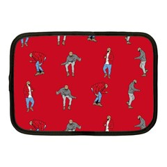 Hotline Bling Red Background Netbook Case (Medium)