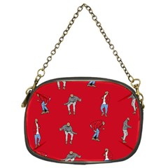 Hotline Bling Red Background Chain Purses (Two Sides)