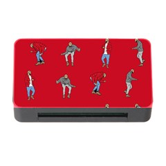 Hotline Bling Red Background Memory Card Reader with CF