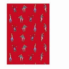 Hotline Bling Red Background Large Garden Flag (two Sides)