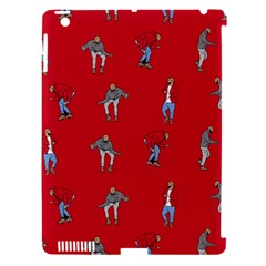 Hotline Bling Red Background Apple iPad 3/4 Hardshell Case (Compatible with Smart Cover)