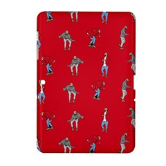 Hotline Bling Red Background Samsung Galaxy Tab 2 (10.1 ) P5100 Hardshell Case