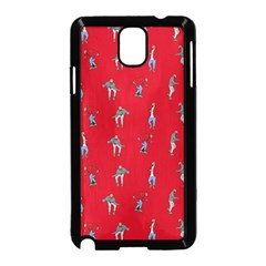 Hotline Bling Red Background Samsung Galaxy Note 3 Neo Hardshell Case (Black)