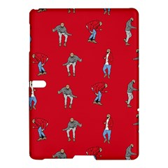 Hotline Bling Red Background Samsung Galaxy Tab S (10 5 ) Hardshell Case