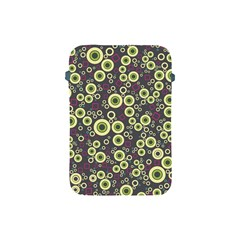Ring Circle Plaid Green Pink Blue Apple iPad Mini Protective Soft Cases
