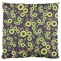 Ring Circle Plaid Green Pink Blue Standard Flano Cushion Case (Two Sides)